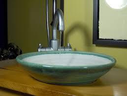 Small Basins For Bathrooms - ed racicot art sinks small bathroom sinks hand painted sinks