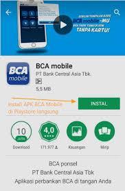 bca mobile apk cara cek saldo kartu flazz bca pakai android wargamalaya