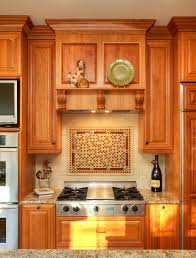 home design marvelous backsplash behind stove with wooden kitchen