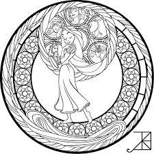 sg rapunzel coloring page by akili amethyst on deviantart