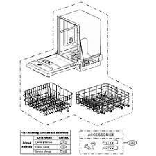 Lg Dishwasher 3850dd3006a Lg Dishwasher Parts Model Lds4821st Sears Partsdirect
