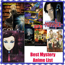 best anime shows top 10 best mystery anime series list recommendations