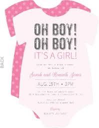 baby shower invites for girl pink baby shower invitations gangcraft net
