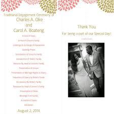 traditional wedding programs traditional wedding planning apbride carol aisle