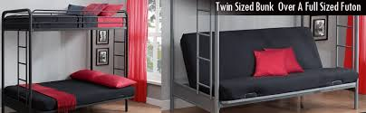 marvellous metal bunk beds twin over full futon 27 in interior for