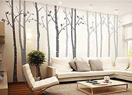 Removable Wall Decals For Nursery 4 Big Birch Tree Wall Decal Nursery Removable Vinyl
