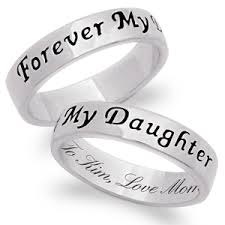 rings engraved images Sterling silver daughter 39 s engraved ring 36059 limoges jewelry gif