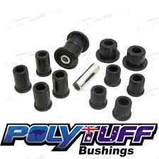 polyurethane rear leaf spring bush kit holden rodeo 4x4 shackle tf