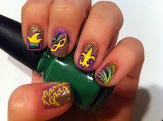 mardi gras nails my style pinterest mardi gras and nails