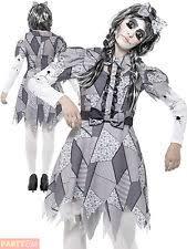 Halloween Costumes Broken Doll Halloween Doll Costume Ebay