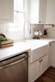 choosing a kitchen faucet home how to choose a farmhouse sink lauren mcbride