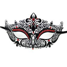 metal masquerade mask buy dainty laser cut metal masquerade mask with rhinestones at