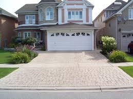 garage driveway design exciting design ideas of home exterior