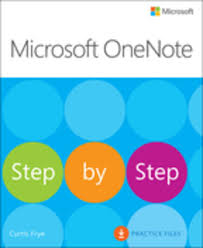 microsoft onenote step by step ebook by curtis frye