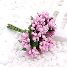 wedding home decoration online shop cheap 144pcs artificial stamen flower for wedding home