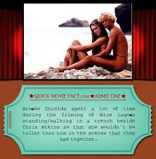 brooke shields spent a lot of time in the trenches quick movie facts