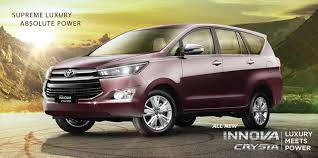 minivans top speed toyota innova crysta fetched 15000 bookings within 10 days of