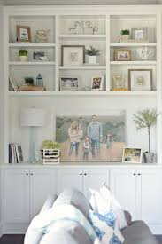 decorating like pottery barn built in bookcase decorating ideas how to decorate bookshelves