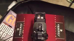 trijicon rmr rm02 auto adjust youtube