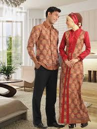 desain baju batik pria 2014 contoh baju muslim batik untuk pria dan wanita