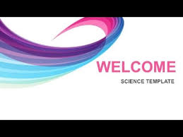 science free powerpoint template 1 youtube