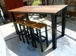 fabriquer une table bar de cuisine fabriquer une table bar de cuisine table mange debout bodega
