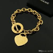 gold chain love bracelet images Fahion hot sale love bracelet new style brand women bracelet gold jpg