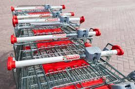 si e auto auchan wózek na zakupy auchan sklep francuska dystrybuci sieć auchan obraz