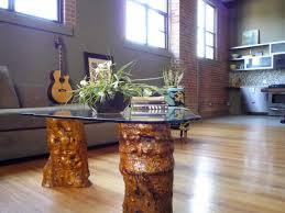 Wood Trunk Coffee Table Tree Trunk Coffee Table U2014 Derektime Design Great Idea Tree Trunk
