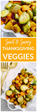sweet savory thanksgiving vegetables e rd