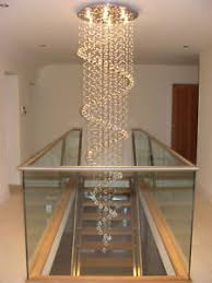 Large Chandelier Spiral Chandelier Lead Glass Large Big Ebay