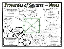properties of parallelograms worksheet 104 best quadrilaterals images on teaching math math