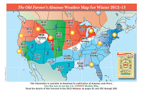 weather usa map promotional weather maps from the farmer s almanac the