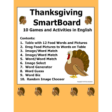 smartboard vocabulary and activities
