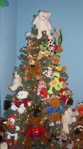 Teddy Bear Christmas Decorations by 53 Best A Teddy Bear Christmas Images On Pinterest Teddy Bears