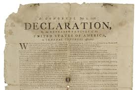 declaration of independence original copy to be on display at
