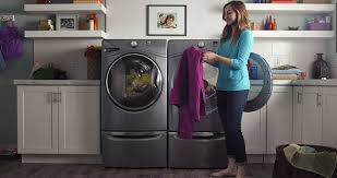 Front Load Washer With Pedestal Laundry Whirlpool