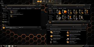 black themes windows 8 how to get hud black and gold theme for win7 8 8 1 youtube