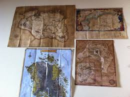 Oblivion Map I Love It When Video Games Come With Maps Gaming