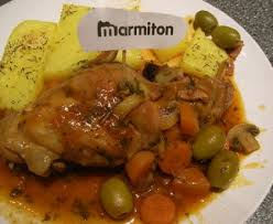 lapin cuisine marmiton lapin sauce chasseur recette de lapin sauce chasseur marmiton