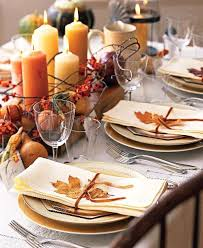 Fall Party Table Decorations - autumn colors table decorations party decorations pinterest