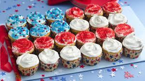 flag cupcake cake recipe bettycrocker