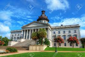 the south carolina state house in columbia stock photo picture