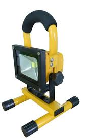 10w rechargeable flood light 10w portable led work flood light cordless rechargeable ip65 12v led