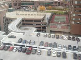 a great view if you like parking lots freakonomics freakonomics can you imagine what this downtown might look like without all those parking garages bring on the driverless car if our cars have the ability to drop us