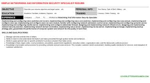 Sample Information Security Resume by Sample Resume For Information Security Administrator