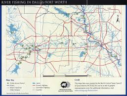 Dallas Metroplex Map by River Fishing In Dallas Fort Worth Maps Are Power Fly Fishing