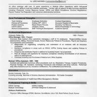 Key Competencies Resume Branch Office Administrator Resume Example Displaying Objective