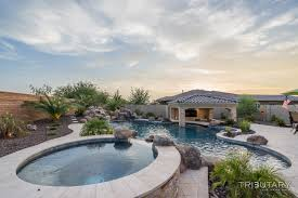 backyard boulder living tributary pools u0026 spas