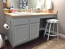 makeovermonday painted master bath cabinets u2013 finally finished